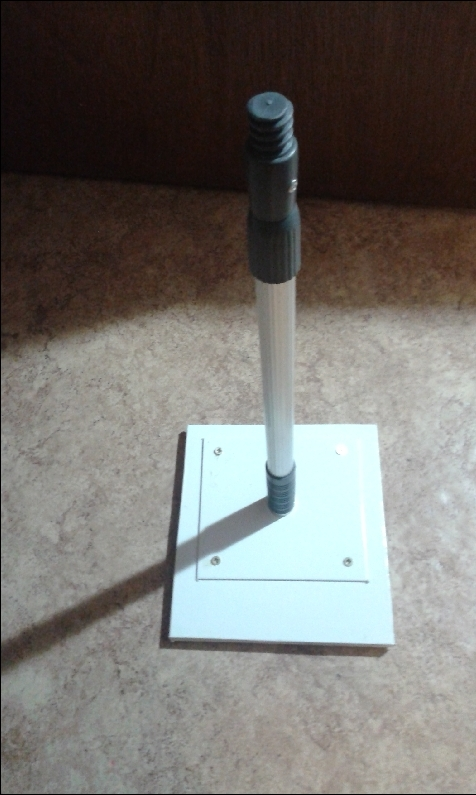 R alisation d 39 une antenne tnt d montable pour camping car for Monter une antenne tnt