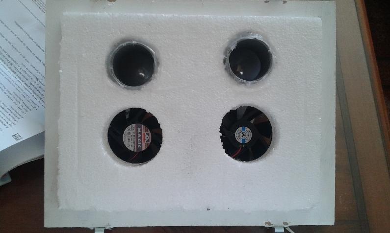 R alisation fabrication d 39 un rafraichisseur 12 volts pour camping car - Faire une clim avec un ventilateur ...