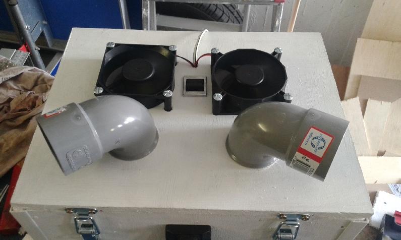 r alisation fabrication d 39 un rafraichisseur 12 volts pour camping car. Black Bedroom Furniture Sets. Home Design Ideas